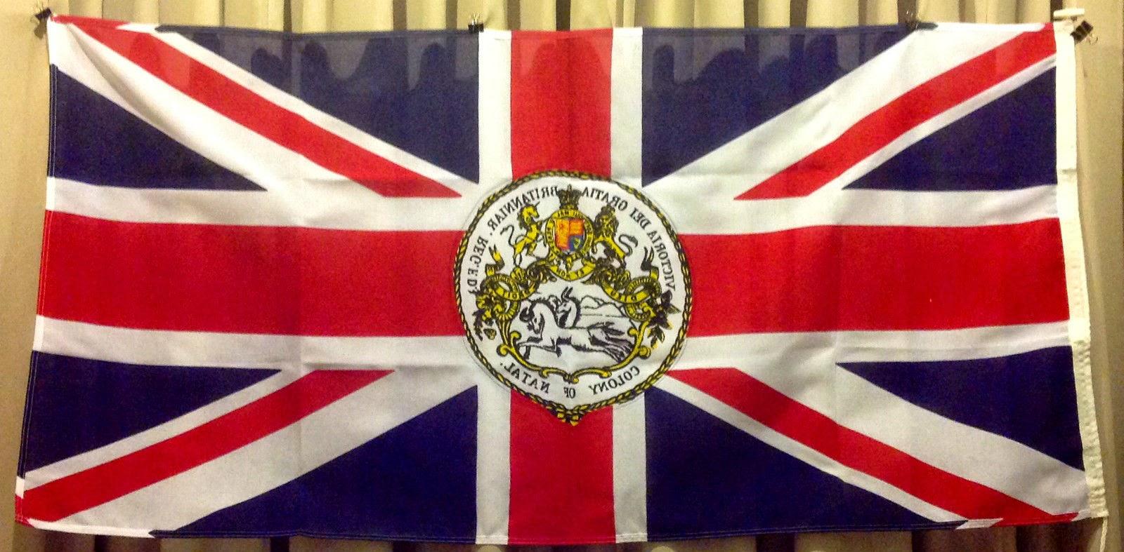 flags of empire british africa