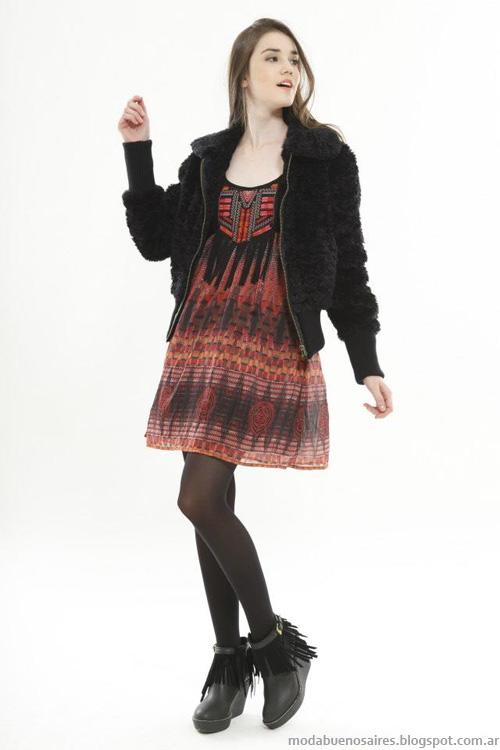 Ossira invierno 2013 moda mujer