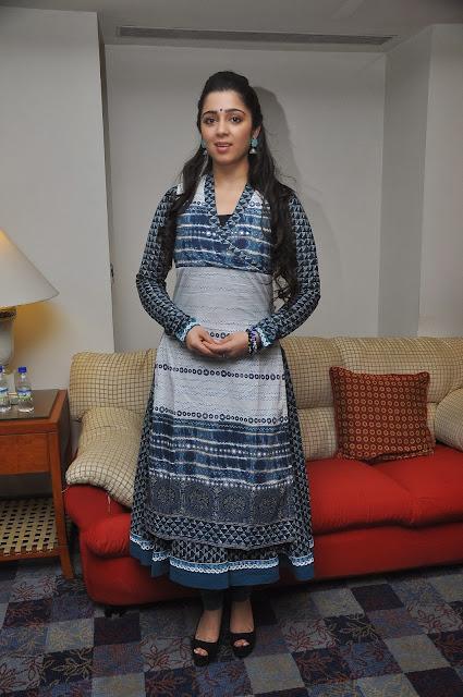 Cute Charmi Kaur at South Scope Calendar 2014 Launch