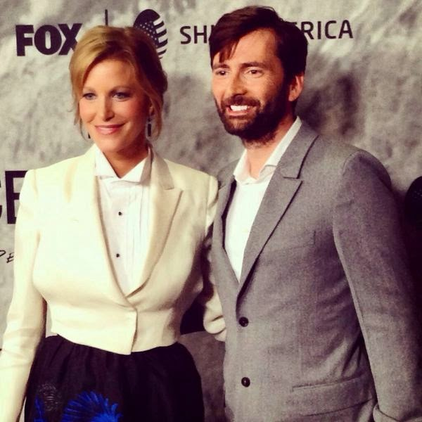 David Tennant at Gracepoint screening in Los Angeles<br>Tuesday 30th September 2014