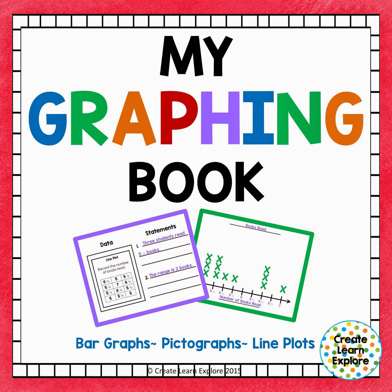 https://www.teacherspayteachers.com/Product/Graphing-Bar-Graphs-Pictographs-Line-Plots-My-Graphing-Book-1679508