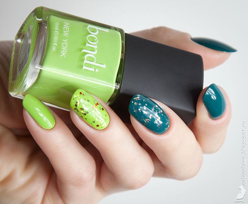 Bondi Travel on the + The Limelight + Orly It's a Meteor