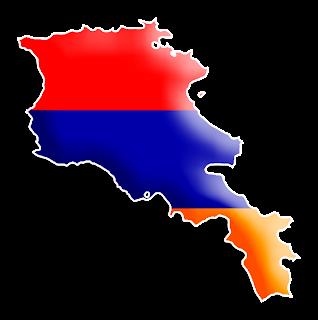 Armenia Flag Round