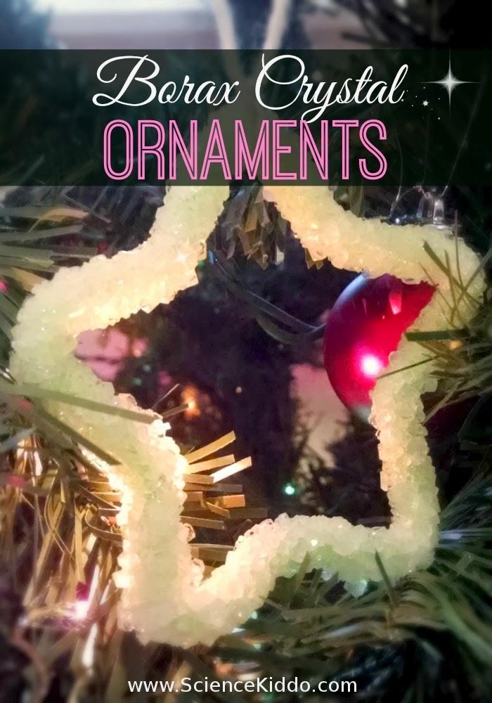 Borax Crystal Ornaments   Christmas Science   Star