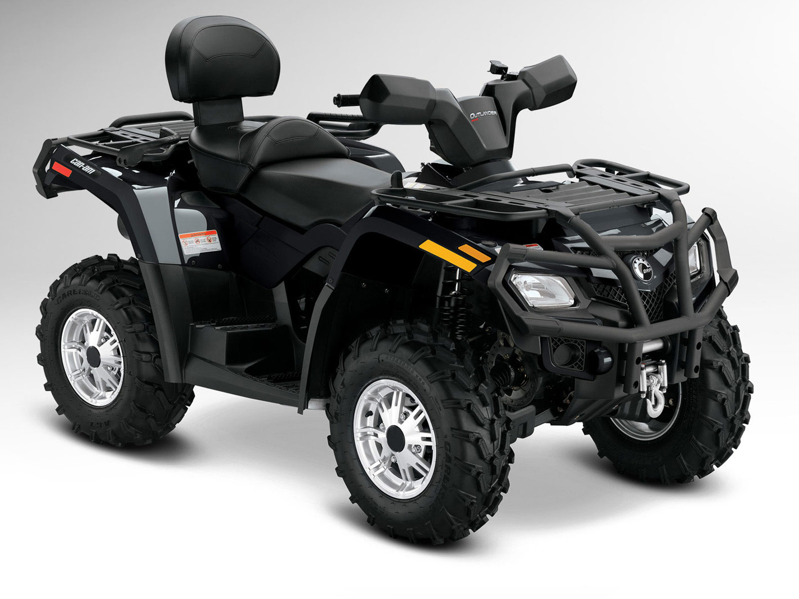 2012 Can-Am Outlander MAX 400 XT Review The Outlander MAX 400 delivers  two-up capability with the ...