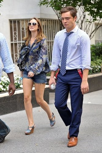 Leighton Meester and Ed Westwick - Page 6 Blake+Lively+And+Ed+Westwick+1