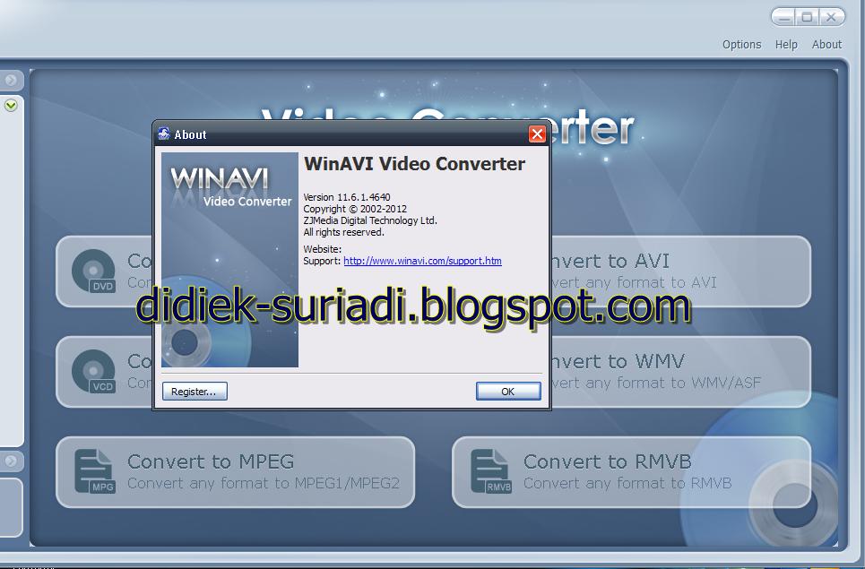 Win avi video converter registration crack e-mail and code winavi all in on