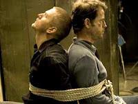 Cartel de Mentes en blanco, drama dirigido por Jaume Collet Serra