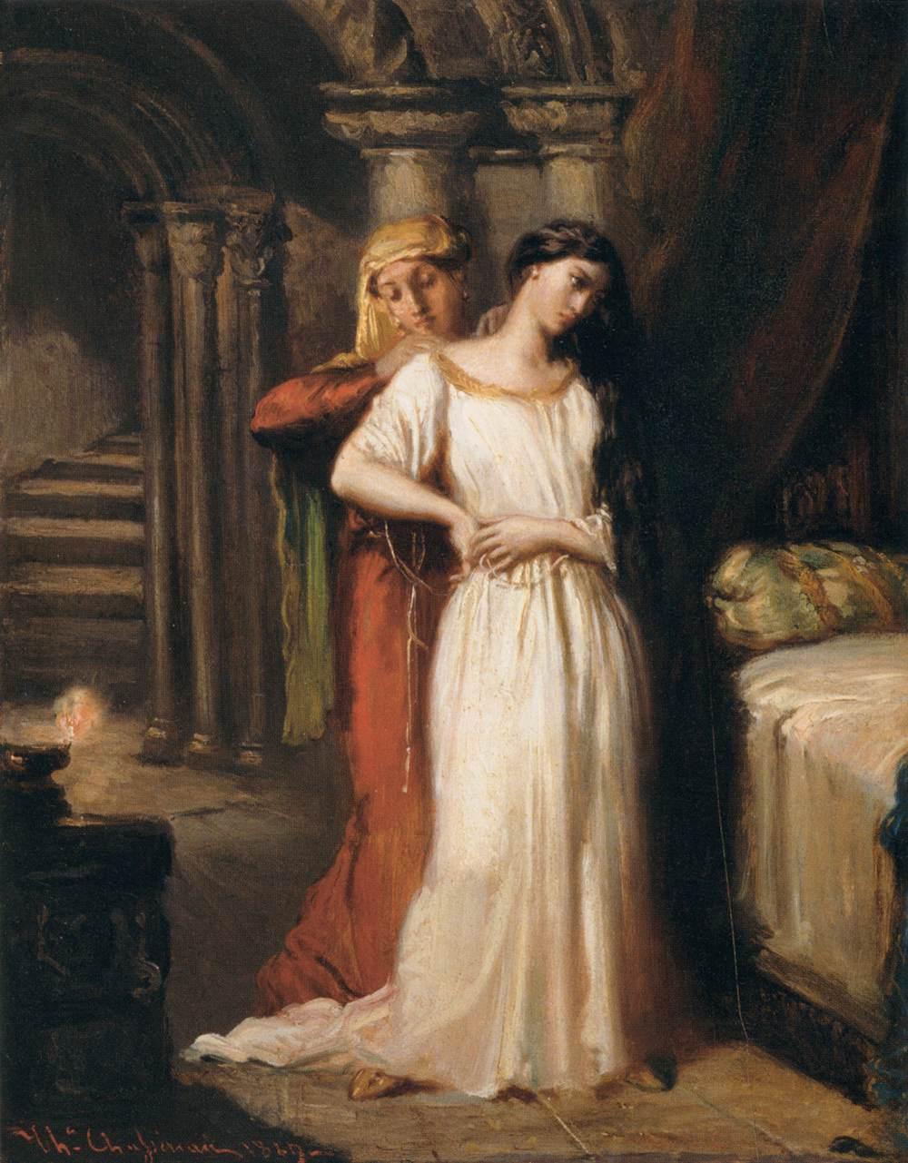 Otello e Desdemona nella pittura