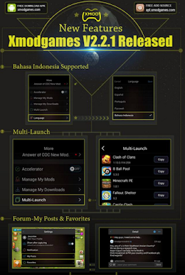 Xmodgames Apk Versi 2.2.1 Update Terbaru