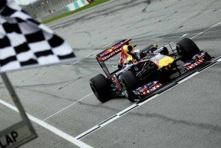 Vettel repite victoria en Malasia