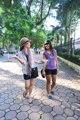 Walking Around the Old Quarter in Hanoi, Vietnam