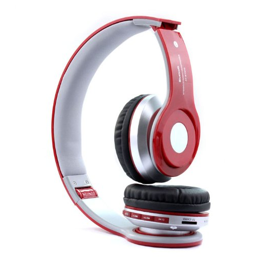 Top Seller Newest Foldable Wireless Bluetooth Stereo Headset Headphones Mic for Iphone, Samsung, HTC - image