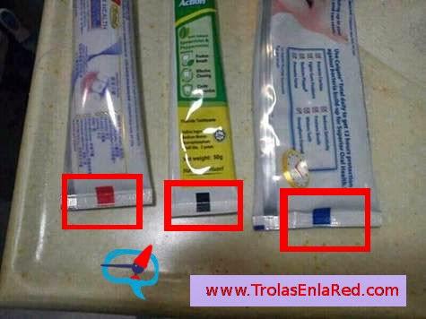 Marcas pasta dientes