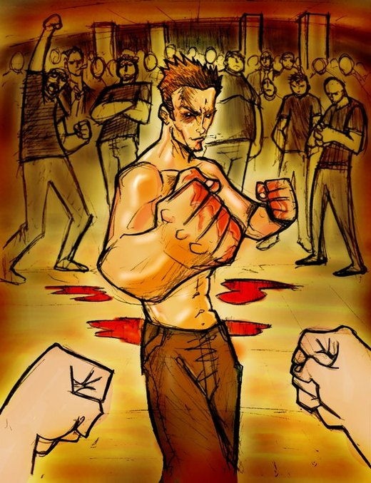 Fight Club por eldeivi