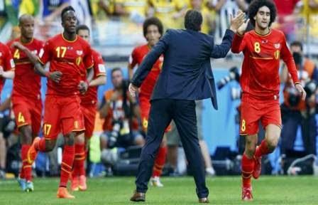 Belgia vs Russia