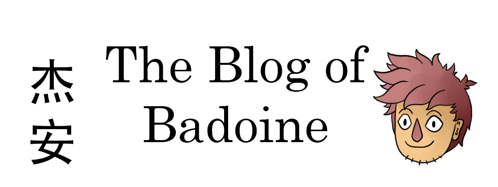 The Blog of Badoine