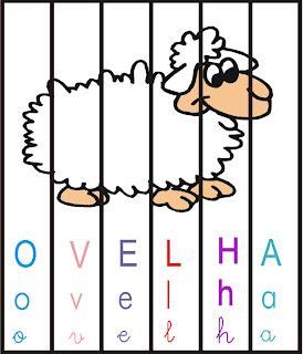 Mexe mexe ovelha - Quebra-cabeça
