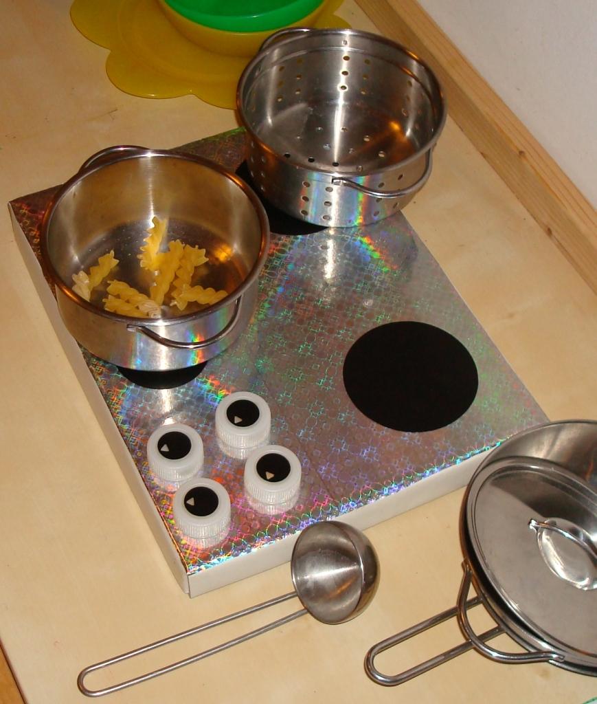 creannanda: tutorial: cucina per bimbi fai-da-te in 10 minuti - Gioco Da Cucinare