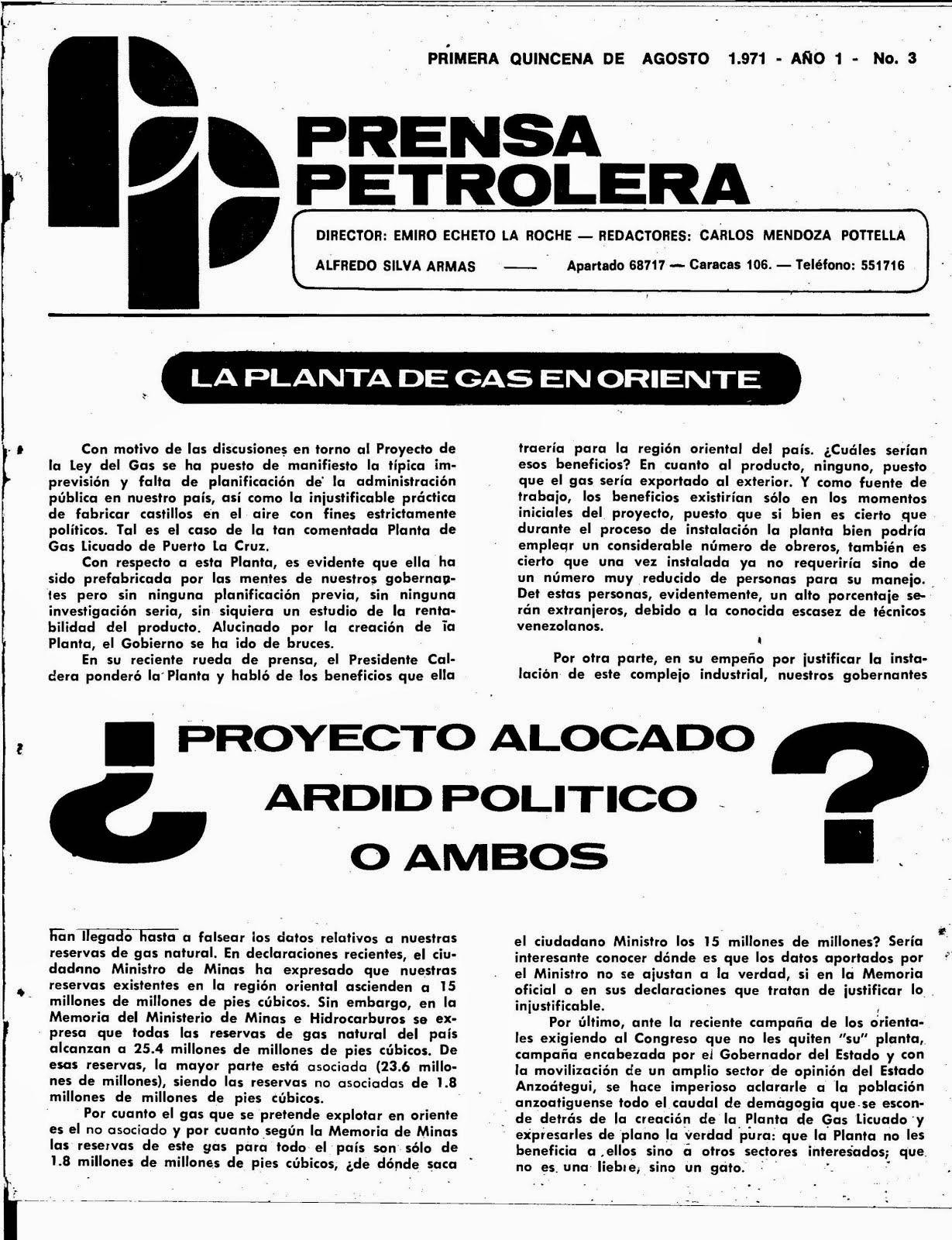 Prensa Perolera 2 y 3