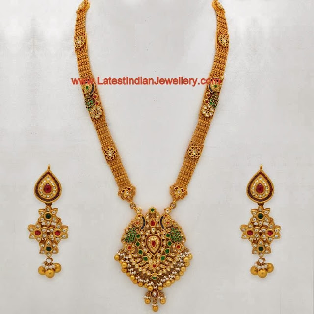 Exquisite Gold Long Haram