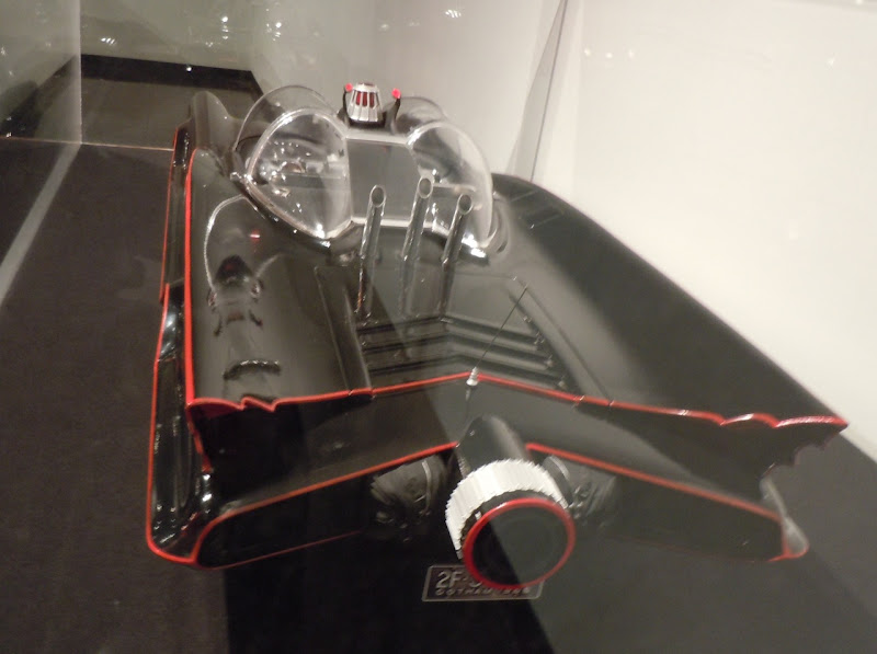 1966 TV Batmobile scale model