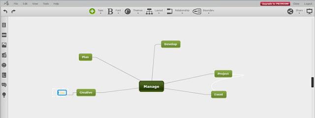 Mindomo mind map, vẽ tư duy Online