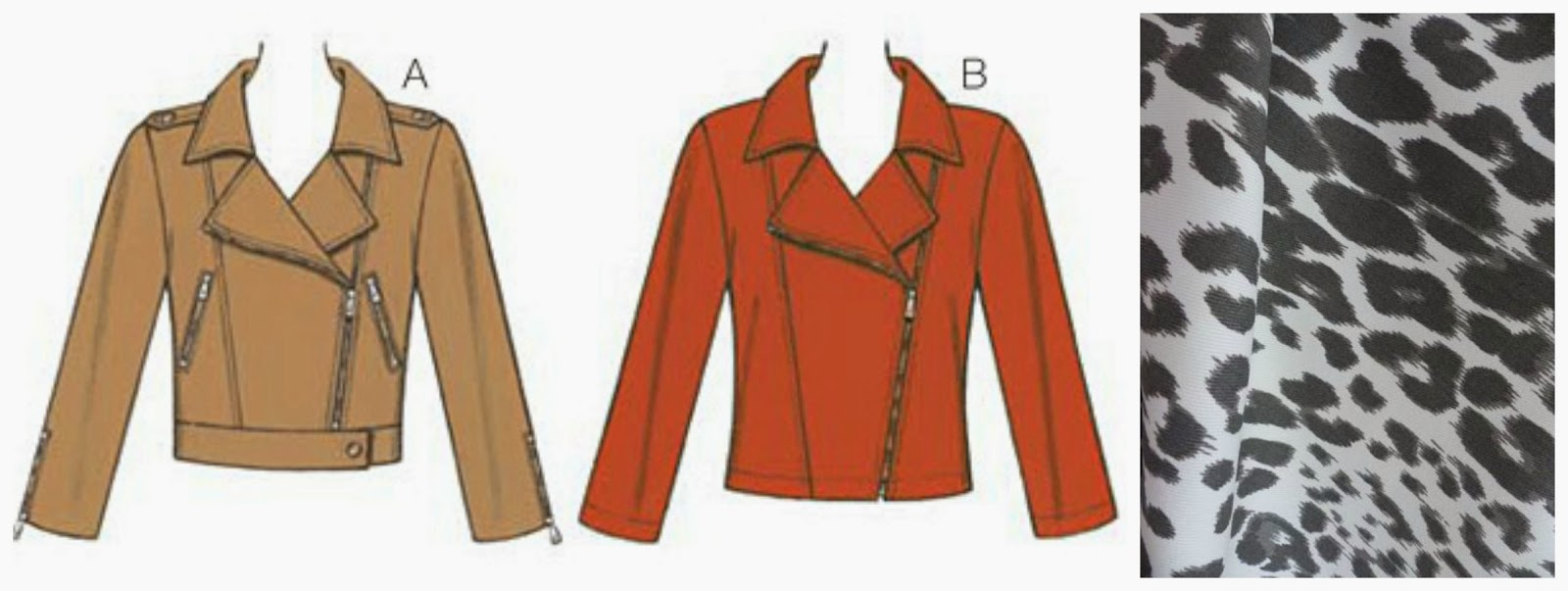 Moto Jacket Pattern New Decorating Ideas