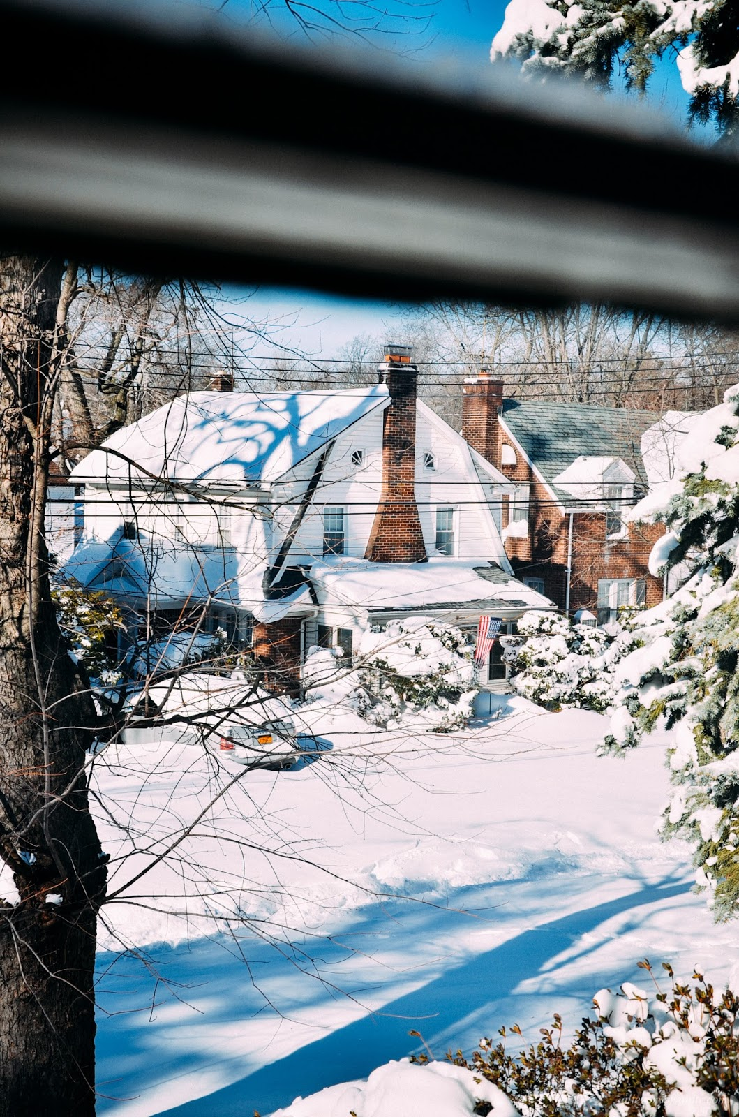 Snowmageddon 2016: Winter Storm Jonas || life NYC winter New York sunset sky photo diary VSCO