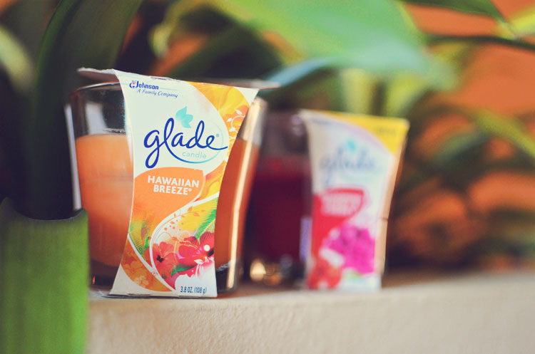 Glade Hawaiian Breeze Candle
