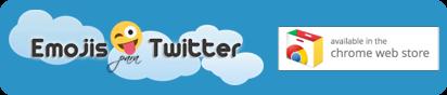Emojis Twitter en la Chrome Web Store