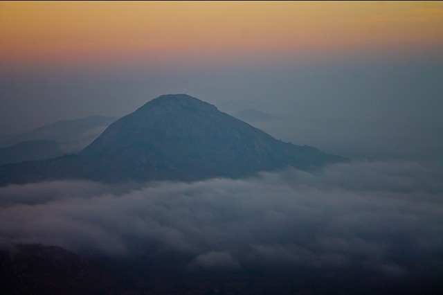 Sunrise at Nandi Hills