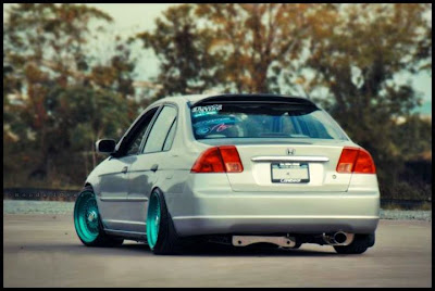 Rims Modified Honda Civic Sticker Bon
