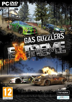 Cover Of Gas Guzzlers Extreme Full Latest Version PC Game Free Download Mediafire Links At Downloadingzoo.Com