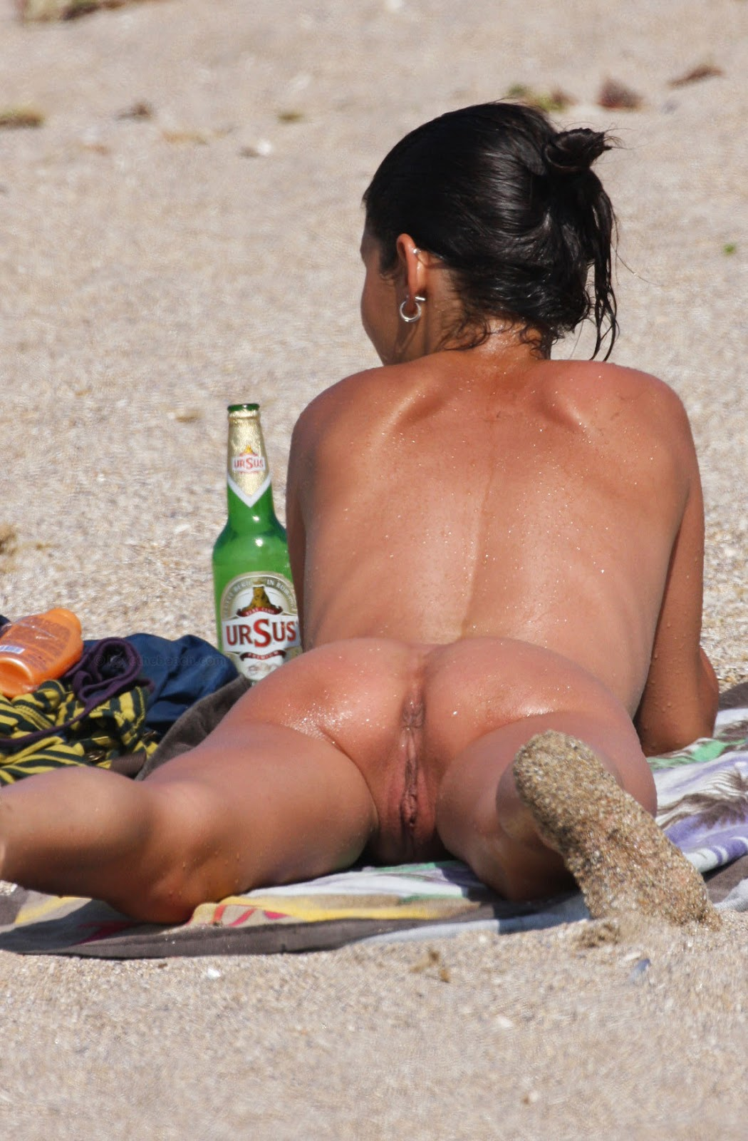 Cum Beach Naked Ass