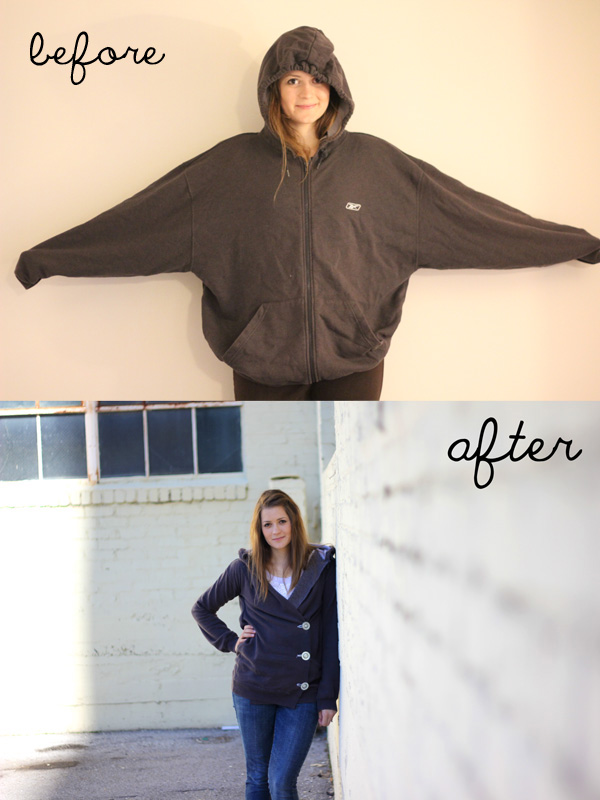 Sweatshirt Liposuction