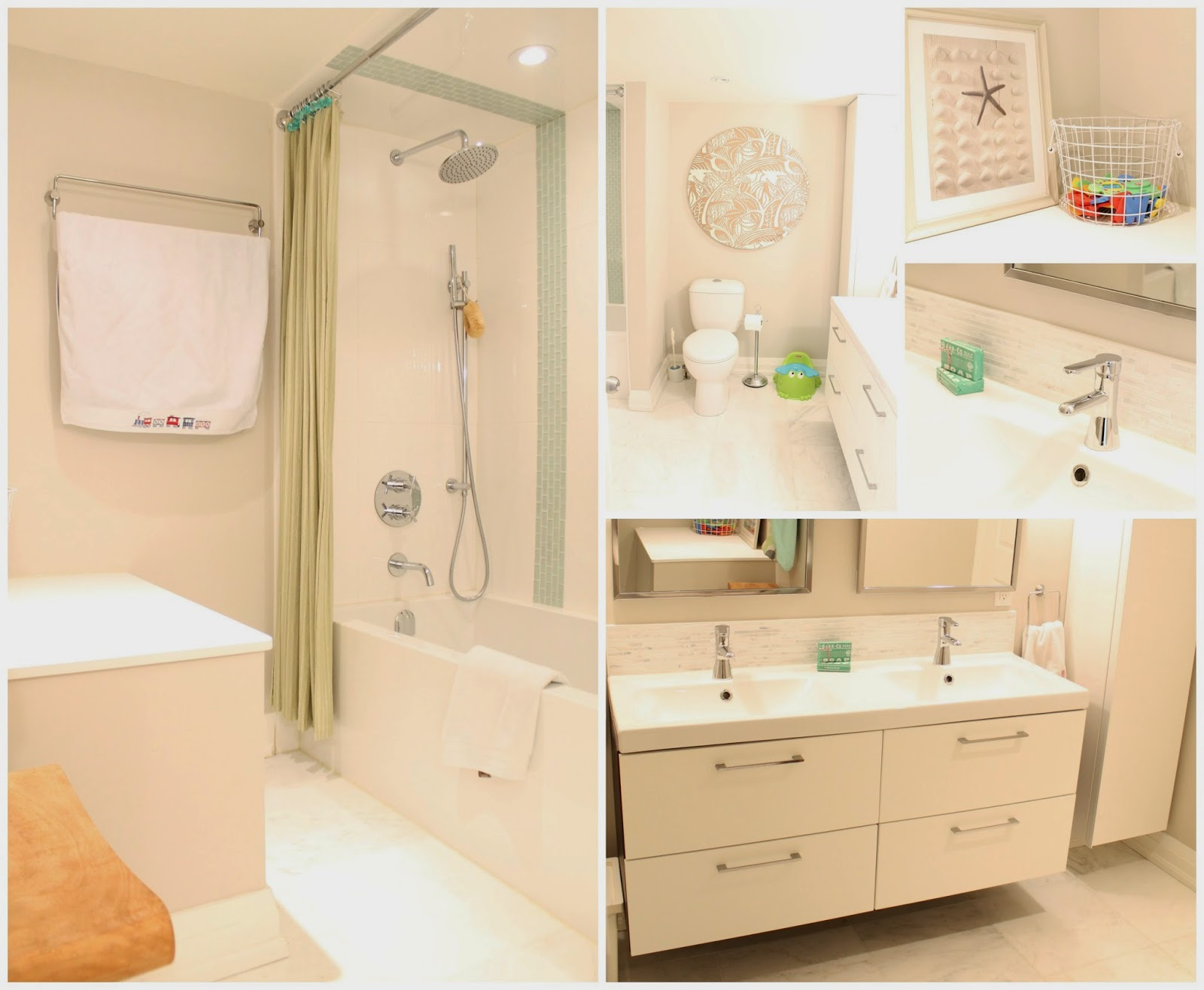Design style decor home before after kids bathroom for Shared bathroom layout