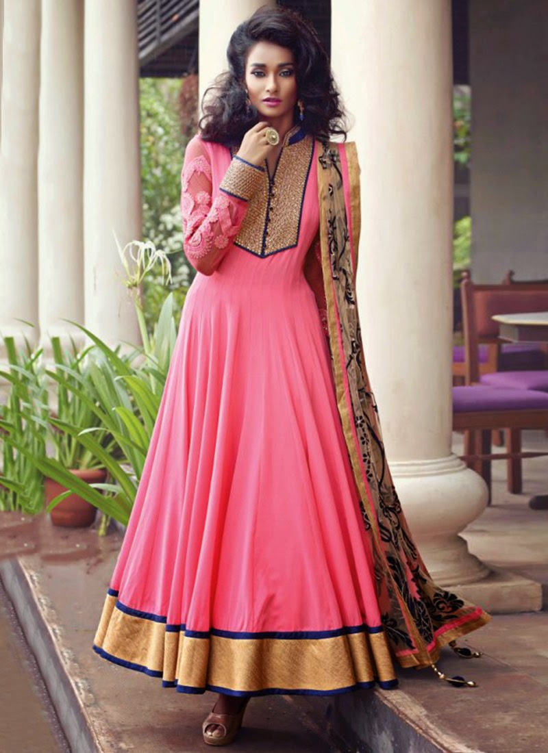 Beautiful Designers Anakrali Umbrella Frocks Collection ...