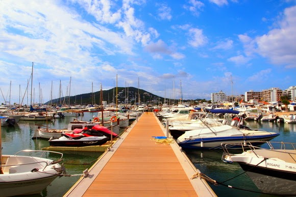Santa Eularia port