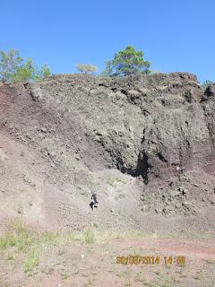 Baza varfului din cponul vulcanic