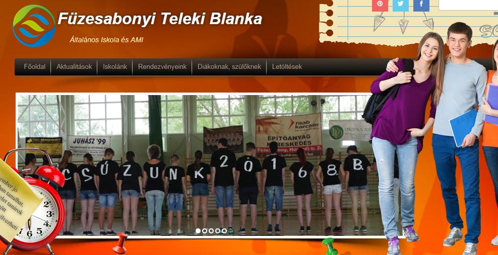 Kérjük látogassa meg a Teleki Blanka Általános Iskola és AMI honlapját!
