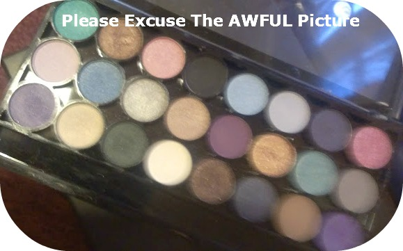 MUA Immaculate Collection Palette