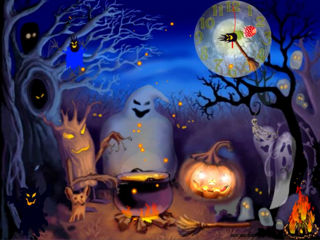 animated halloween wallpapers | best wallpaper background