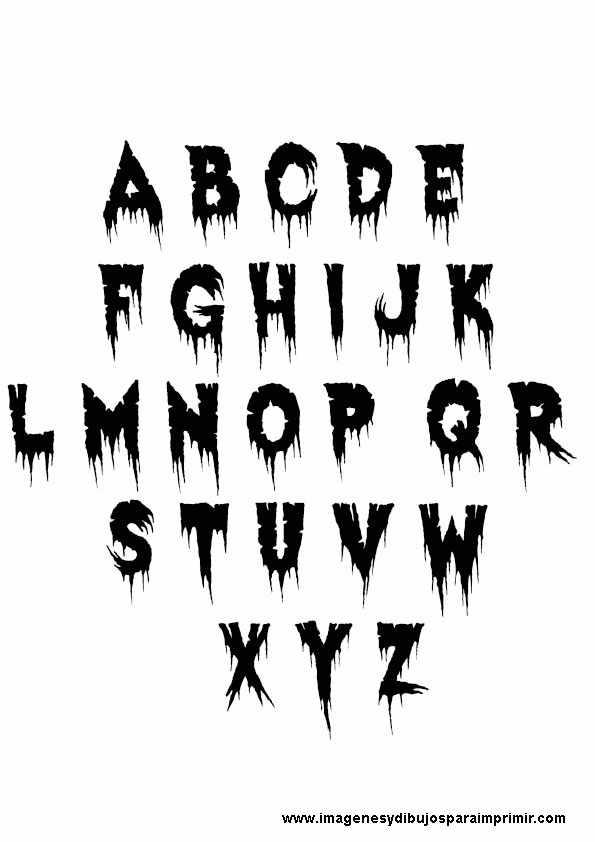 Letras Goticas Con Sombra Pictures