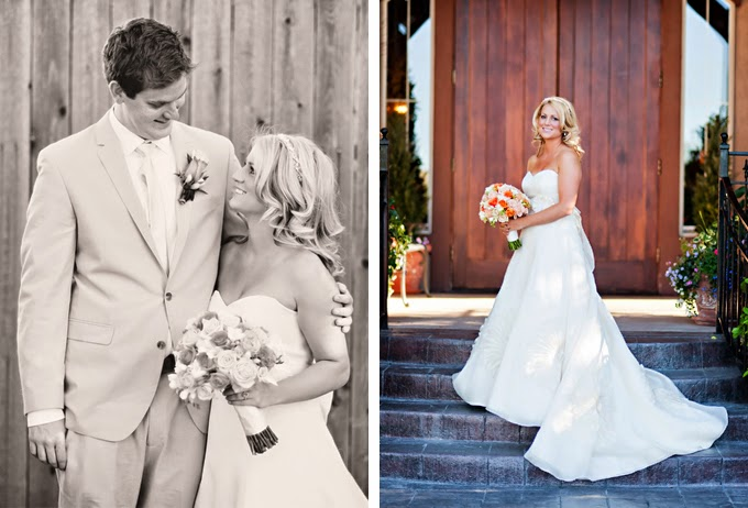 Peaches and Cream Utah Wedding: Courtney and Gideon