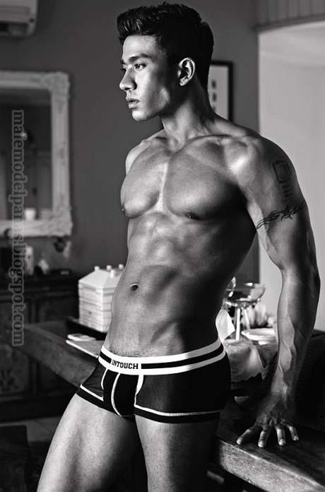 men underwear model