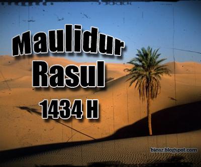 Maulidur Rasul 1434H