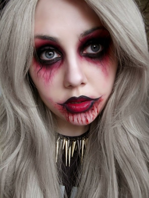 easy halloween face makeup ideas