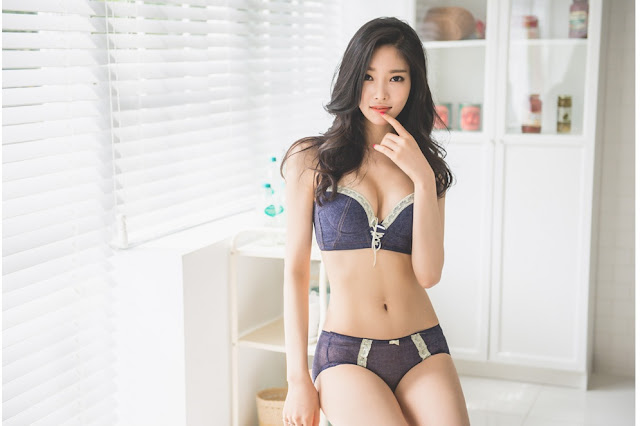 5 Jung Yun -  Small Set - very cute asian girl-girlcute4u.blogspot.com