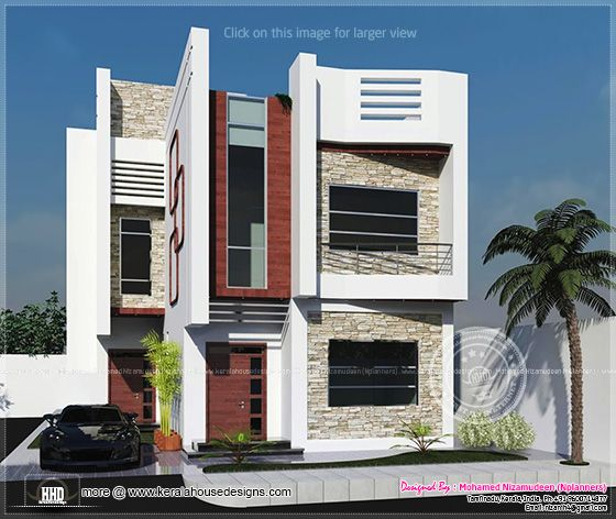 Home Design In India House Plans Designs India 1762 Sq Ft India House Thumb  Modern Home